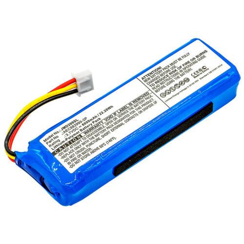 akut 3,7V Li-Polymer JBL Charge AEC982999-2P - 6000mAh(yhteensopiva)