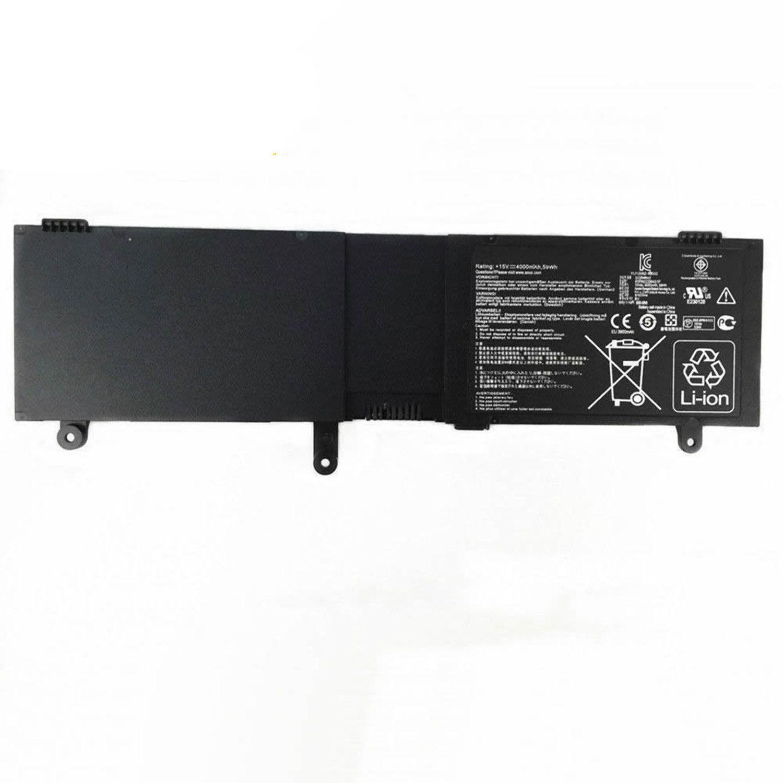 akut Asus N550X47JV ROG G550 G550J JK N550JK Q550L Q550LF (yhteensopiva)