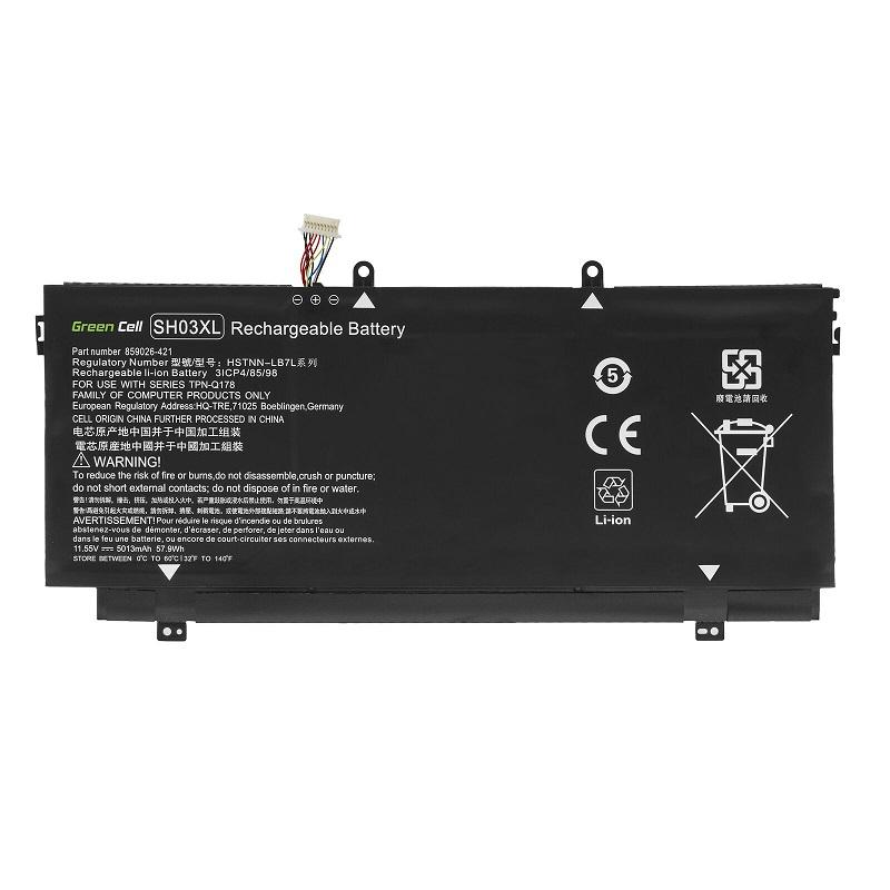 akut HP Spectre x360 13-AC005TU 13-AC005UR 13-AC006NF 13-AC006NG(yhteensopiva)